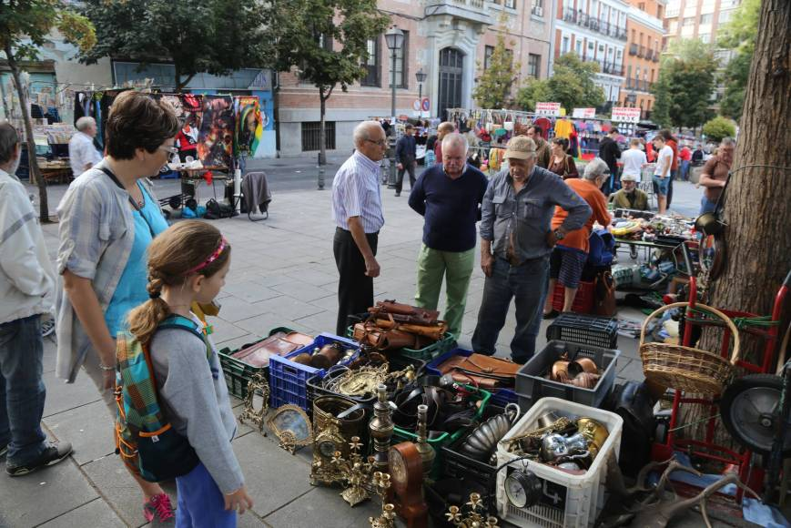 Flea Market, Madrid