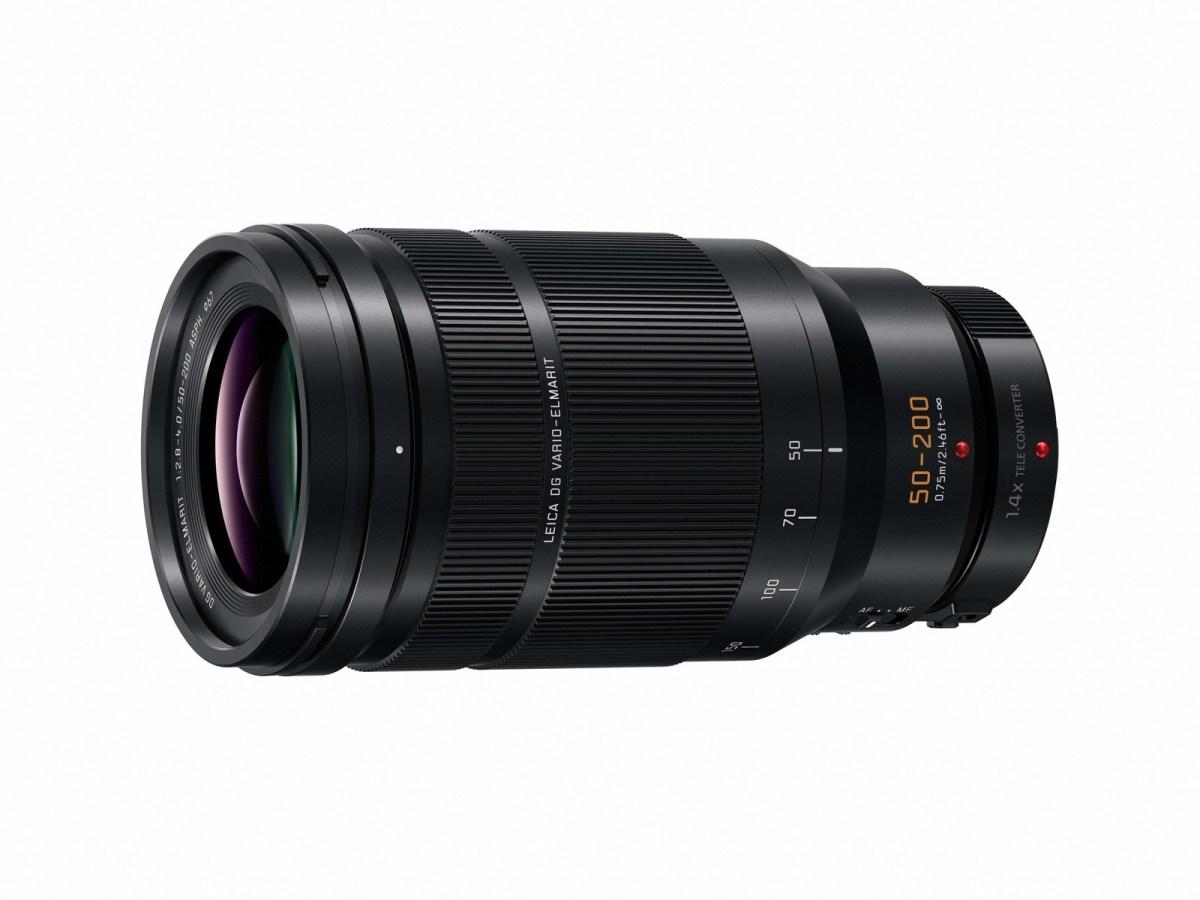 LEICA DG VARIO-ELMARIT 50-200mm / F2.8-4.0 ASPH. (H-ES50200) (PRNewsfoto/Panasonic Consumer Electronics)