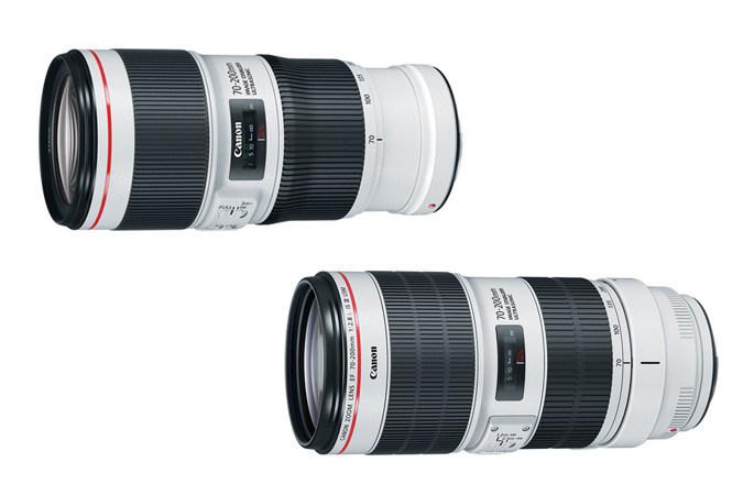 Canon  EF 70-200mm Lenses