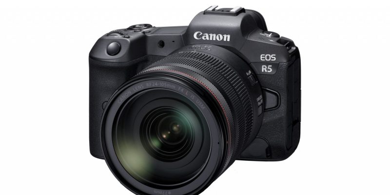 Canon EOS R5 Body with-RF-24-105mm-F4L-IS-USM-Lens