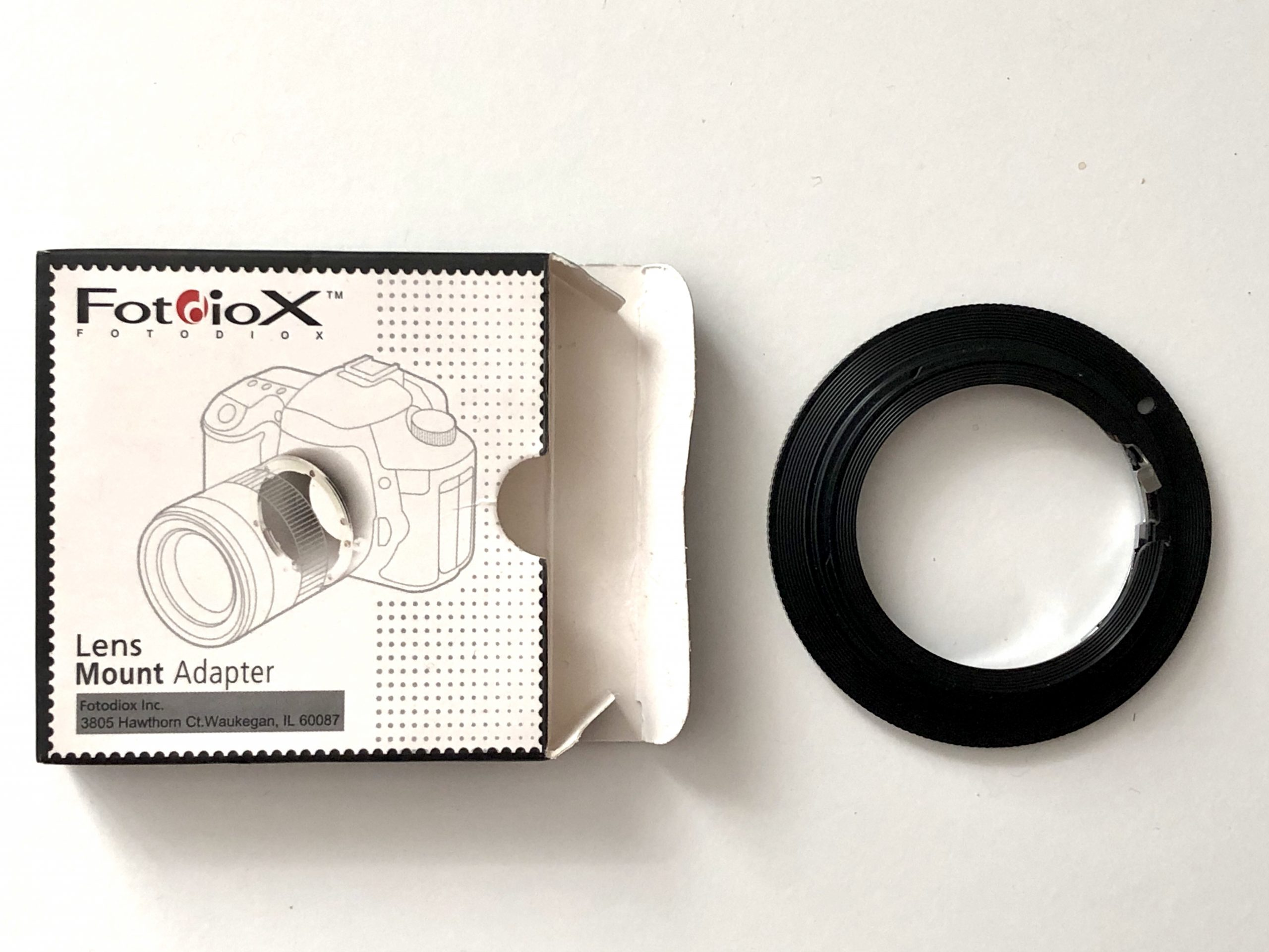Fotodiox Pro Lens Mount Adapter - Nikon, Nikkor Lens to any Canon EOS EF/EF-S Mount Camera. for Sale
