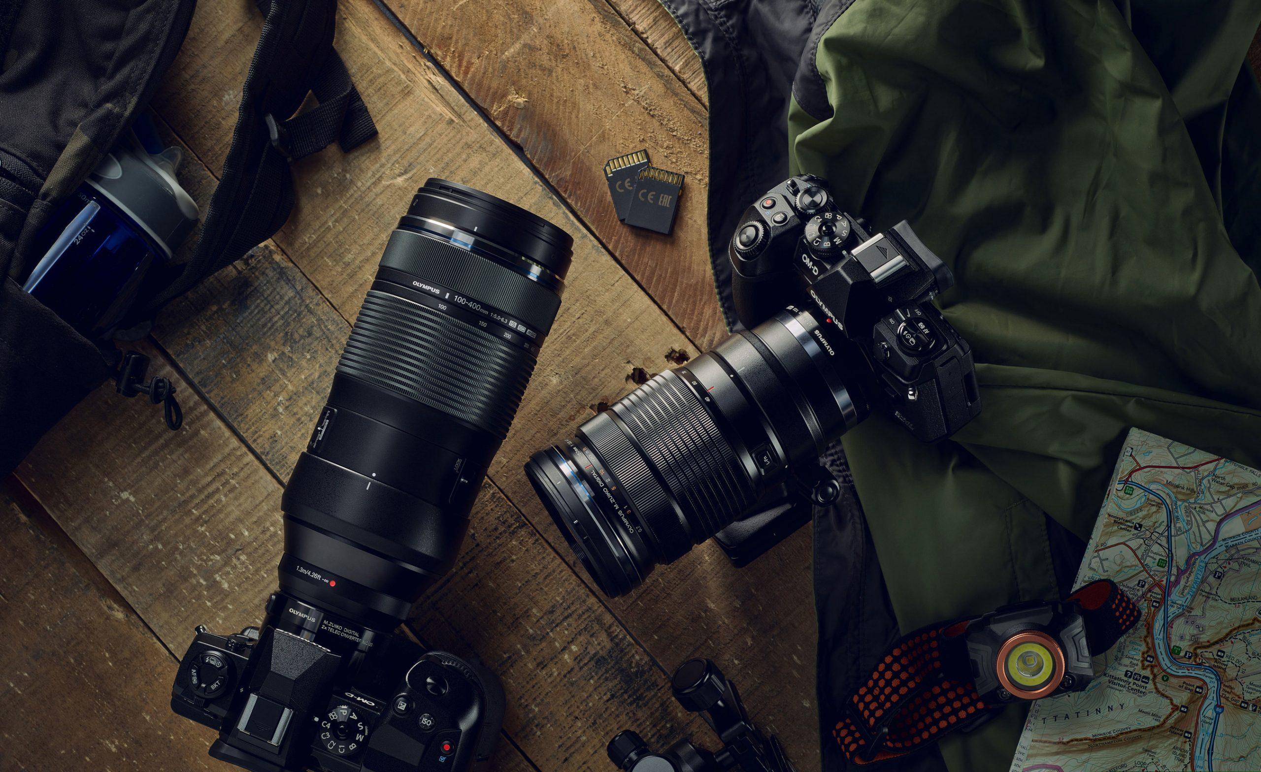 The M.Zuiko® Digital ED 100-400mm F5.0-6.3 IS lens
