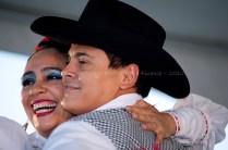 Globalfest 2012 - Mexican Pavilion - dancers, pair, action, clos