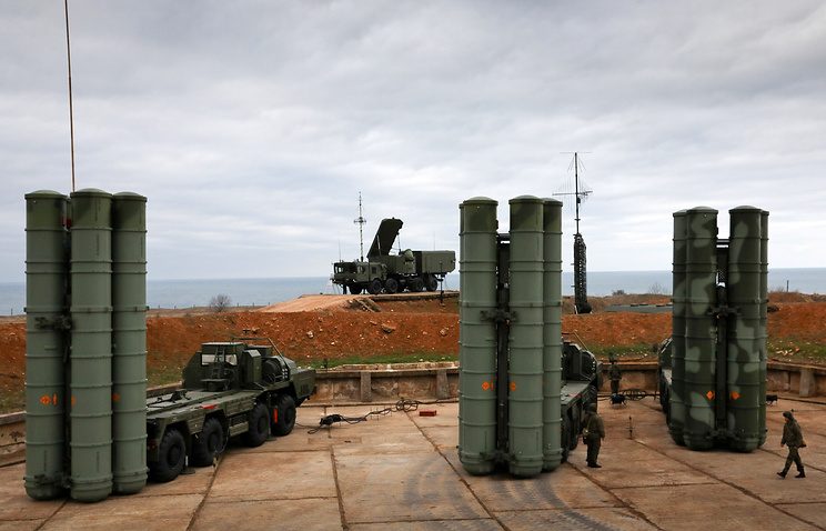 Top diplomat says Turkey will use S-400 systems only to protect its territory