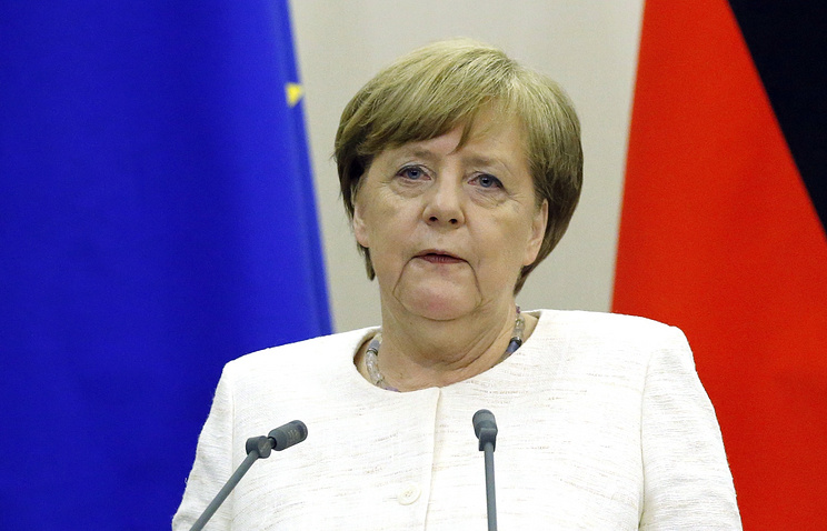 Merkel says Germany ready to promote political process in Syria