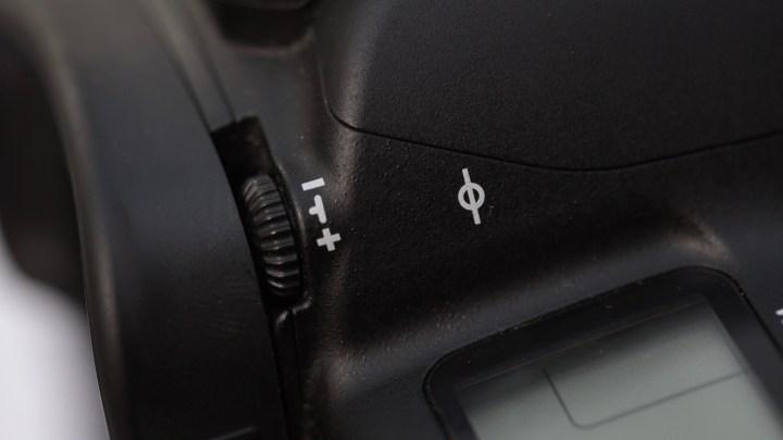 Canon 5D MkIV diopter control