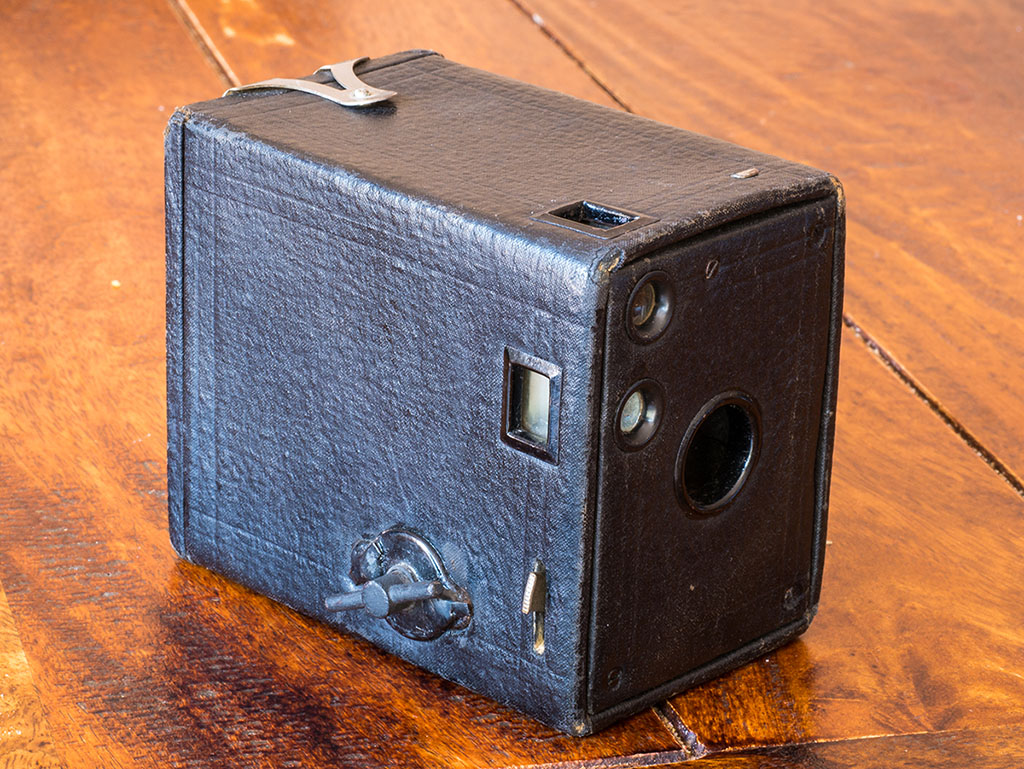 Kodak No. 0 Brownie Model A – Shooting at over 100 years strong
