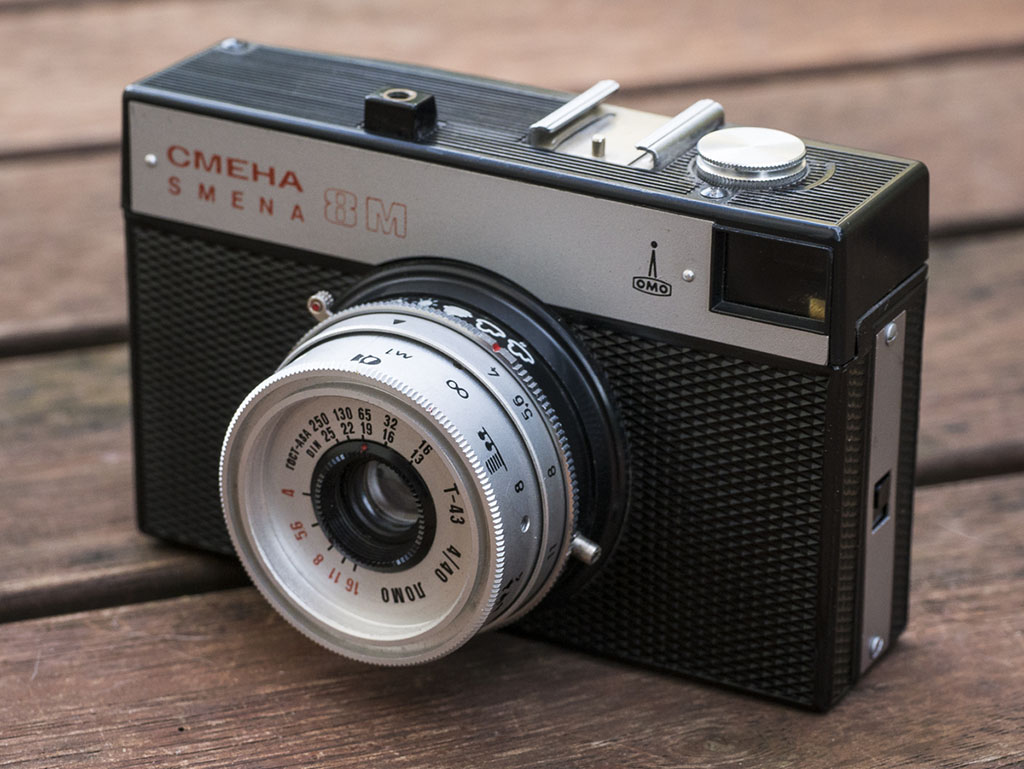 Lomo Smena 8M – The Comrade for the Young Generation