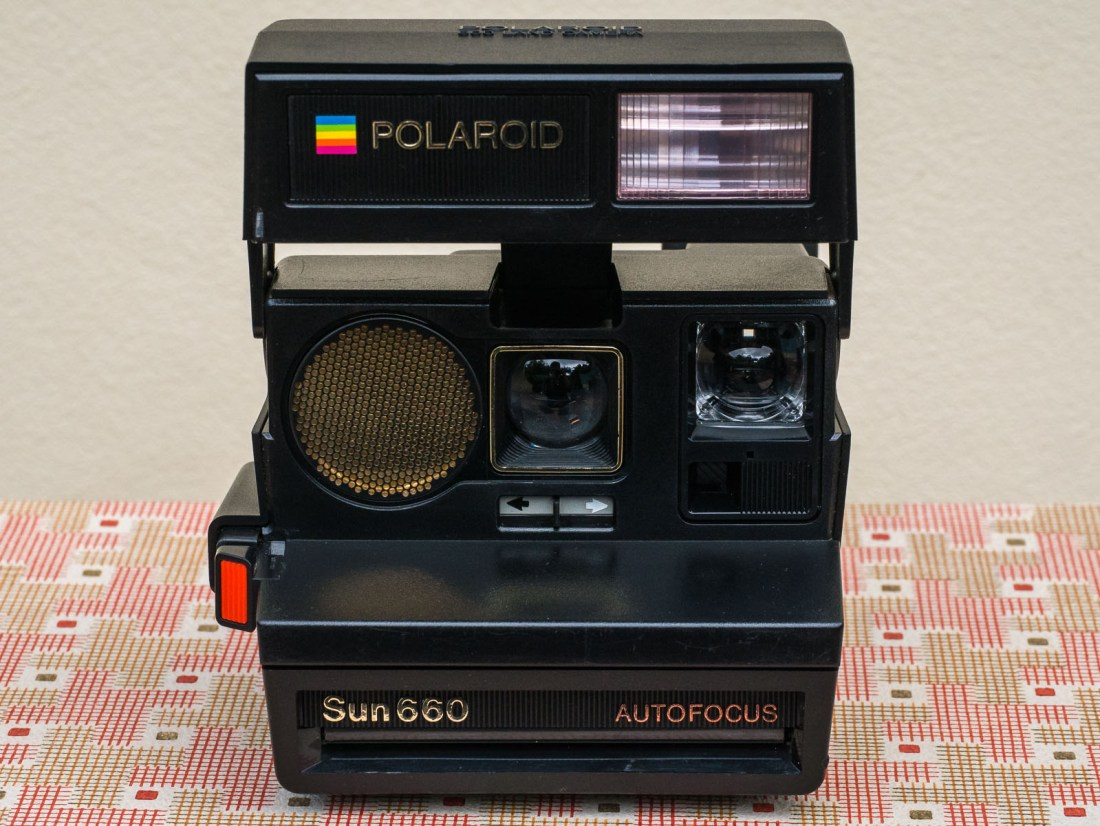 No Not Insta Social Media But A Camera Developed At The Pinnacle Of Companys History Polaroid Sun 660 Autofocus Land Was Sold