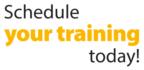 Schedule your Training today!