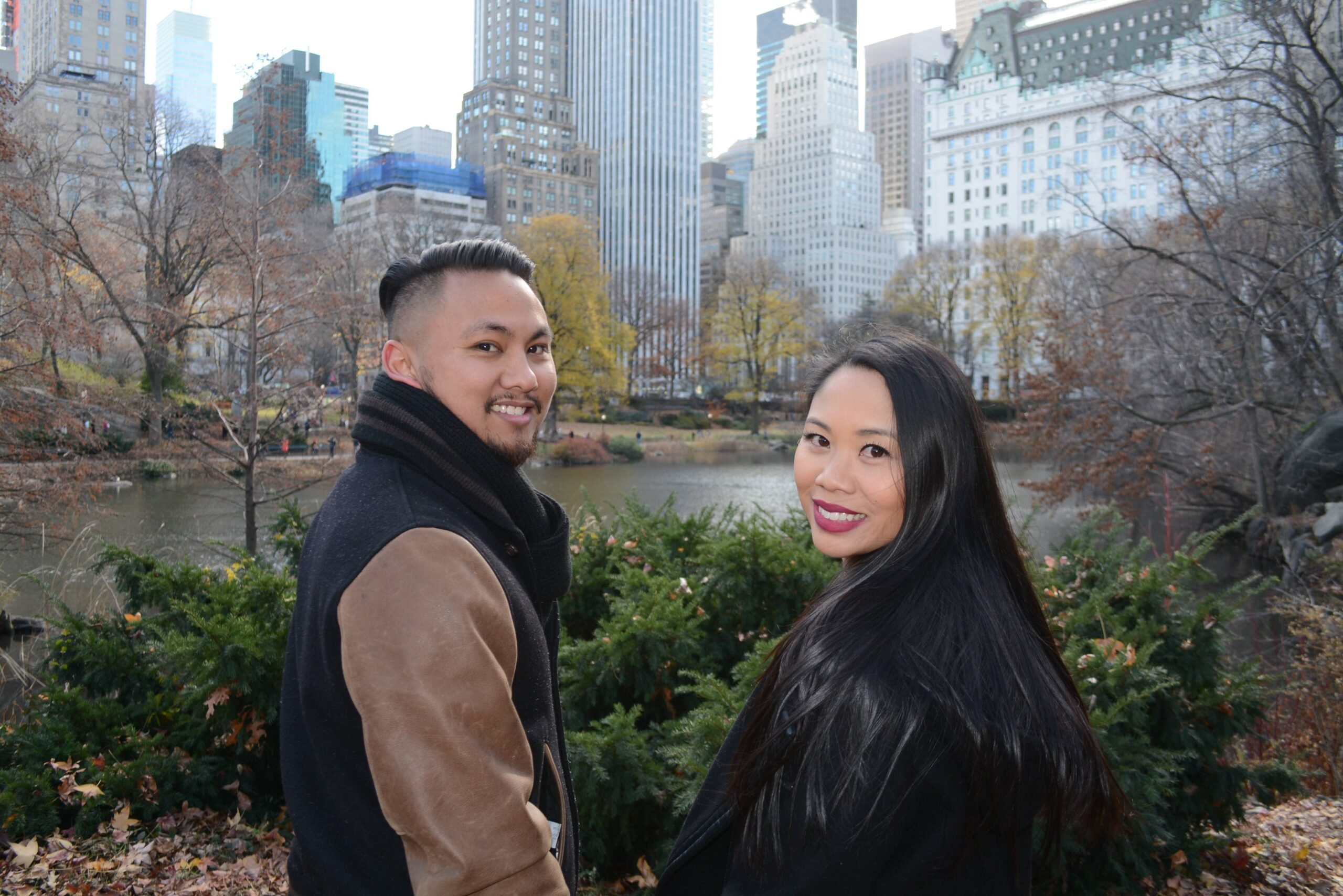 Romantic NYC walking Tour in Central Park