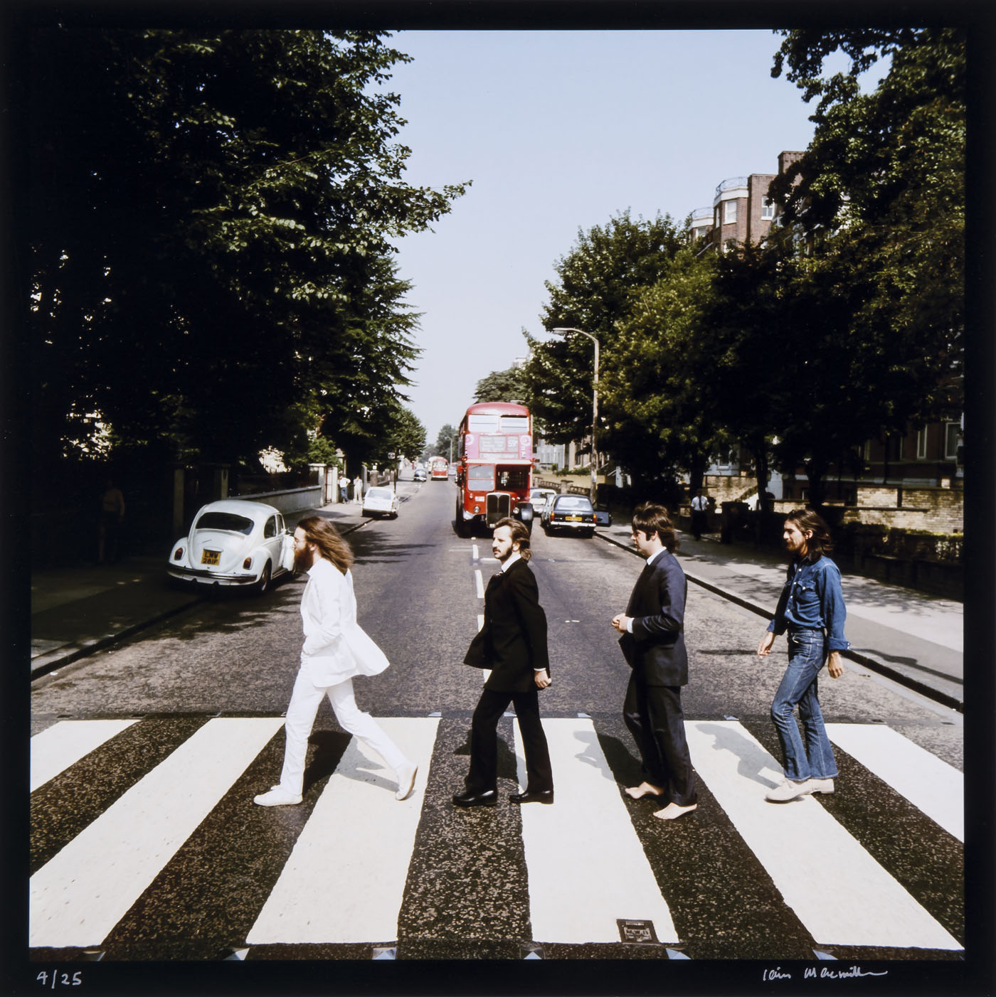 Le Dessous Des Images Les Beatles Sur Abbey Road