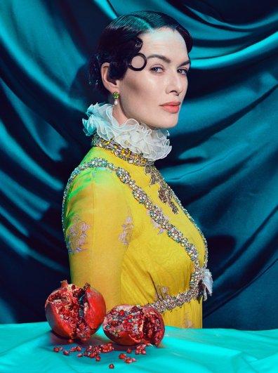 Lena Headey | Cersei Lannister - © Miles Aldridge
