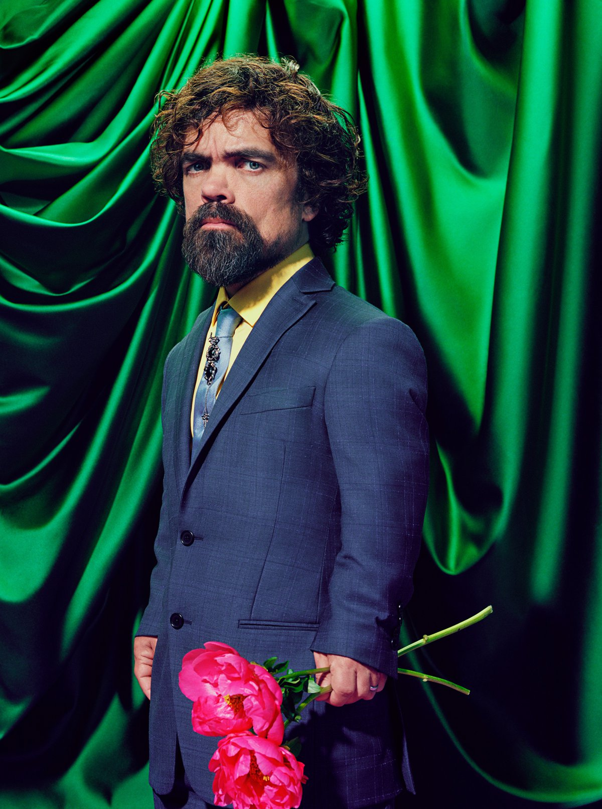Des portraits d acteurs de Game of Thrones riches en couleur pour le  magazine TIME 57d10740094b