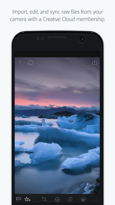 Lightroom Android Ancien 2