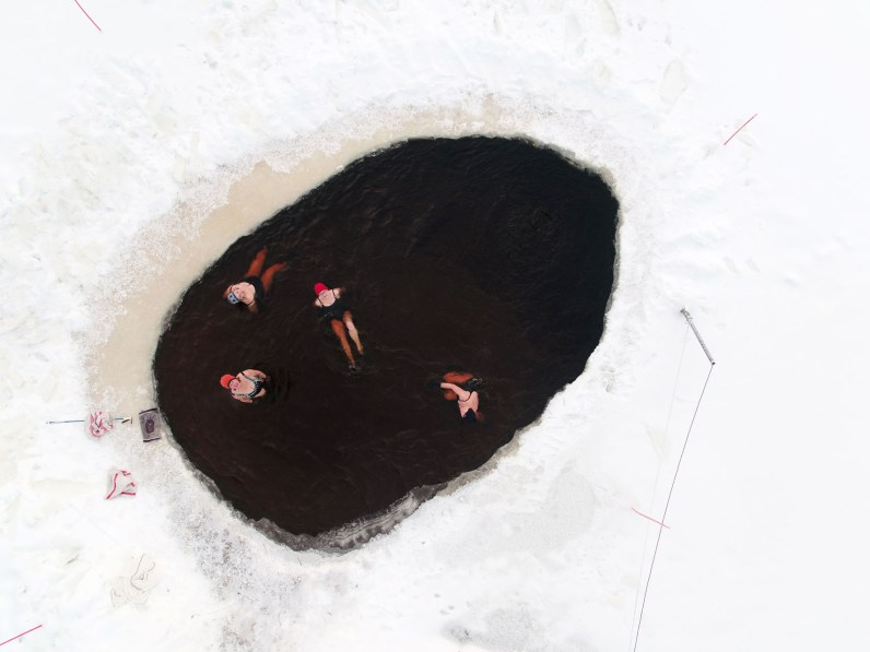 Ice Hole © Sami Kero / Helsingin Sanomat/Finland