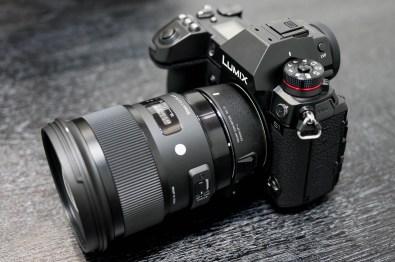 Convertisseur MC-21 EF-L avec le Sigma 50mm f/1.4 DG ART