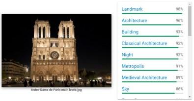 Google Image Analysis Tool Notre Dame 3