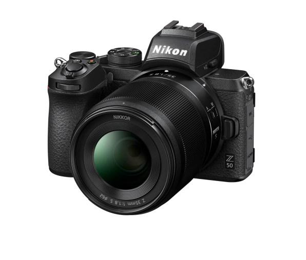 Nikon Z 50 avec un NIKKOR Z 35mm f/1.8 S
