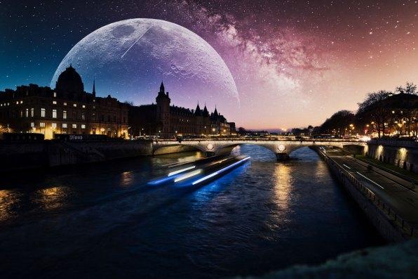 DSC04051T3 Lune Ciel Étoilé