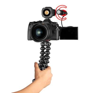 GorillaPod JOBY Vlogging Kit JB01645 BWW Camera Hand