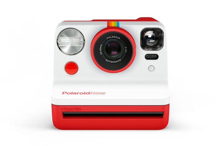 Now Red Polaroid Camera 1
