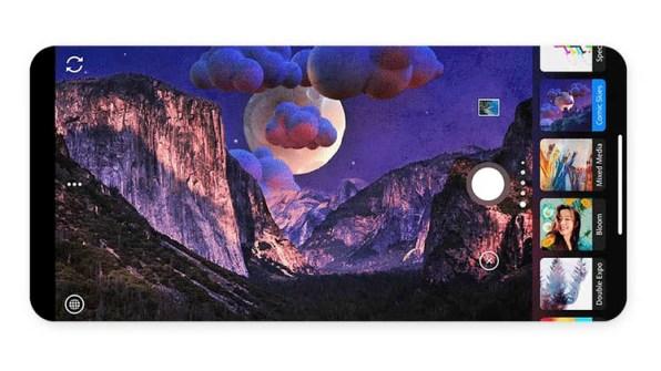 Photoshop Camera Screen 3