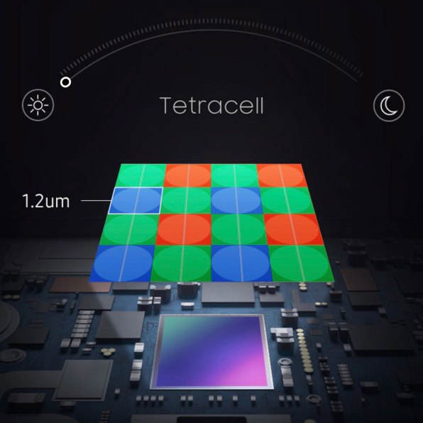 Samsung ISOCELL GN1 Tetracell 1.2um