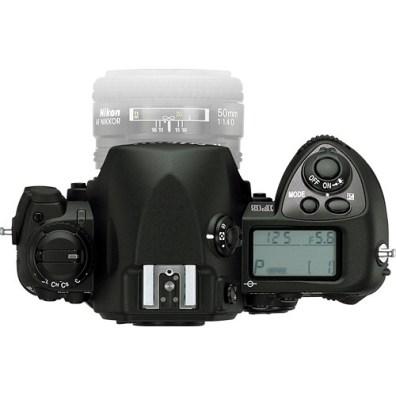 Nikon F6 Top