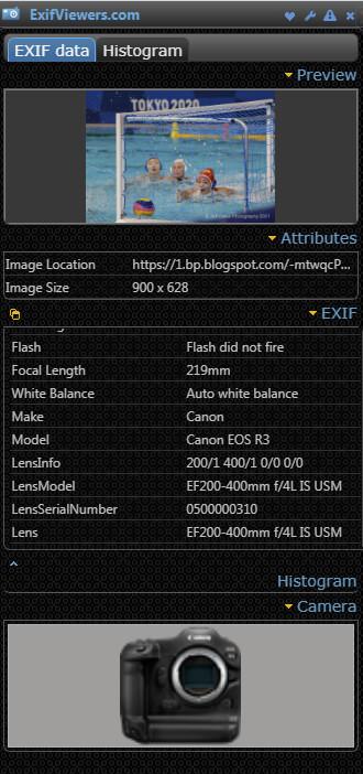 Canon EOS R3 EXIFs 1