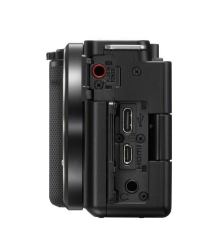 Sony ZV E10 Terminal Open Black