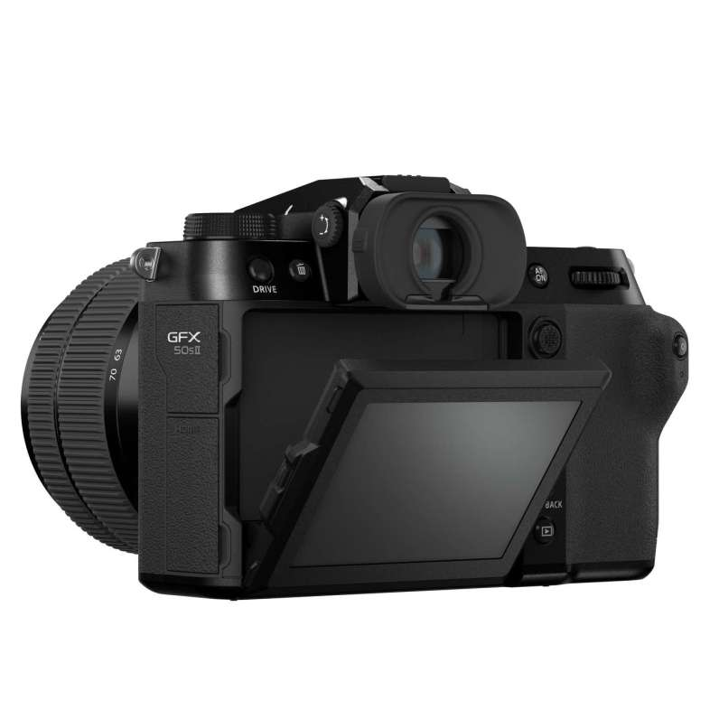 Fujifilm GFX50SII Back Diagonal LCDtilt High Angle