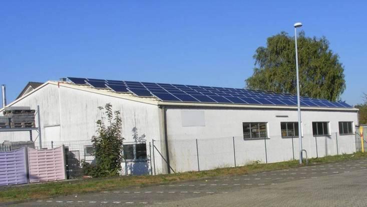 Waghäusel, PV - Anlage (17,625 kWp)