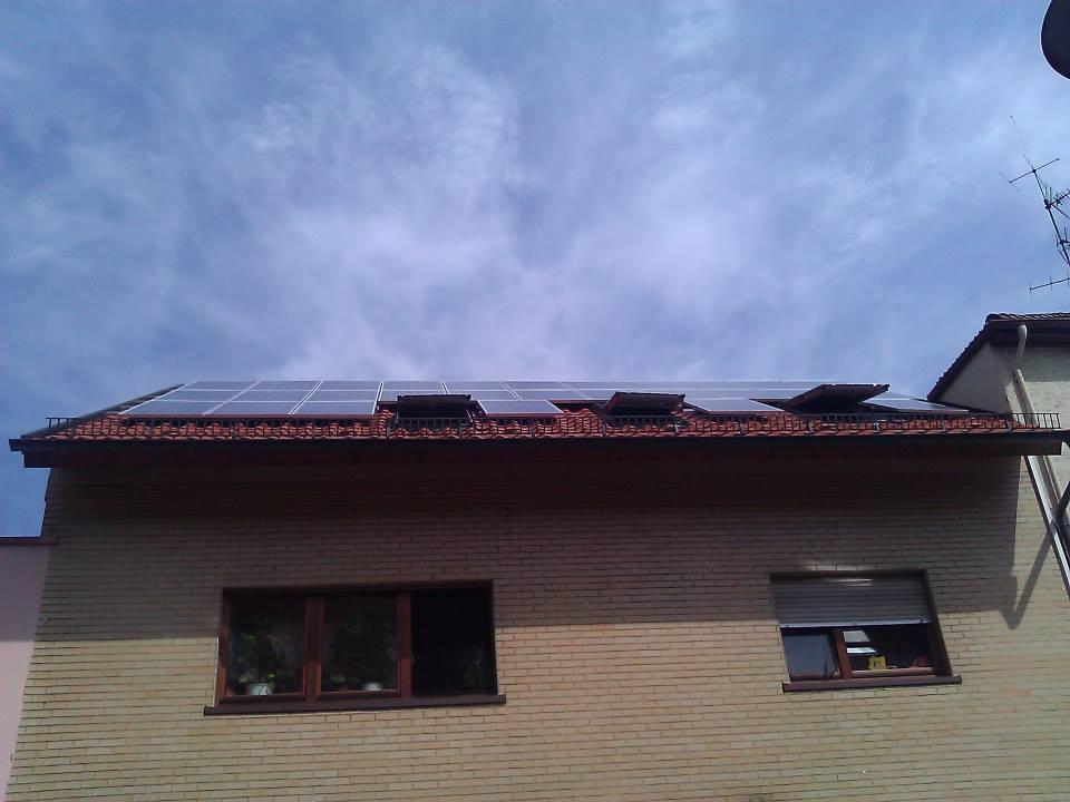 Mannheim, PV - Anlage (6,3 kWp)