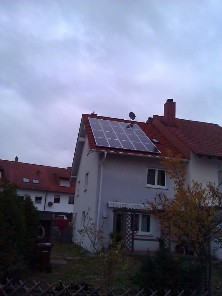 Speyer, PV - Anlage (3,7 kWp)