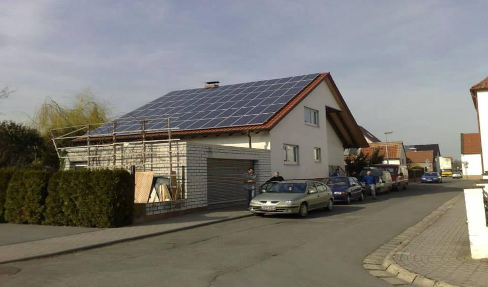 Worms-Wiesoppenheim, PV - Anlage (14,04 kWp)
