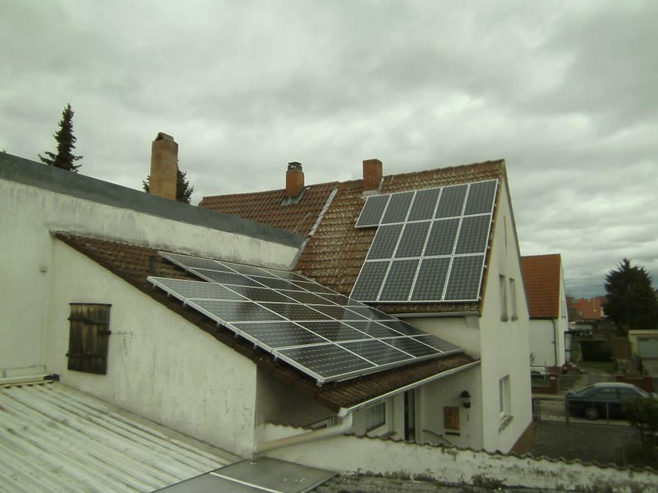 Altrip, PV - Anlage (6,825 kWp)