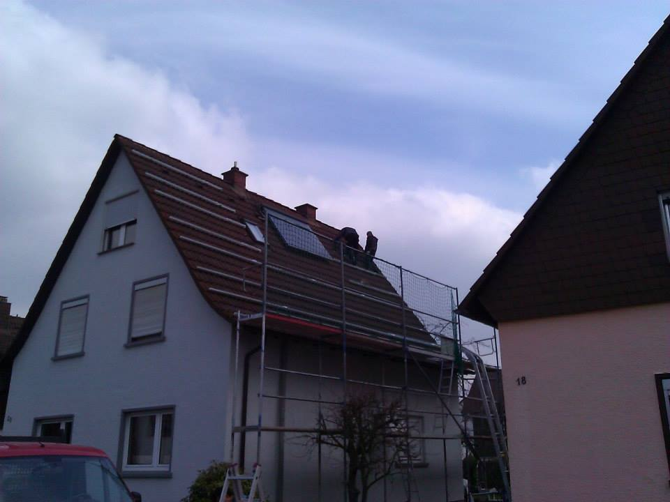 Hockenheim, PV - Anlage (7,84 kWp)