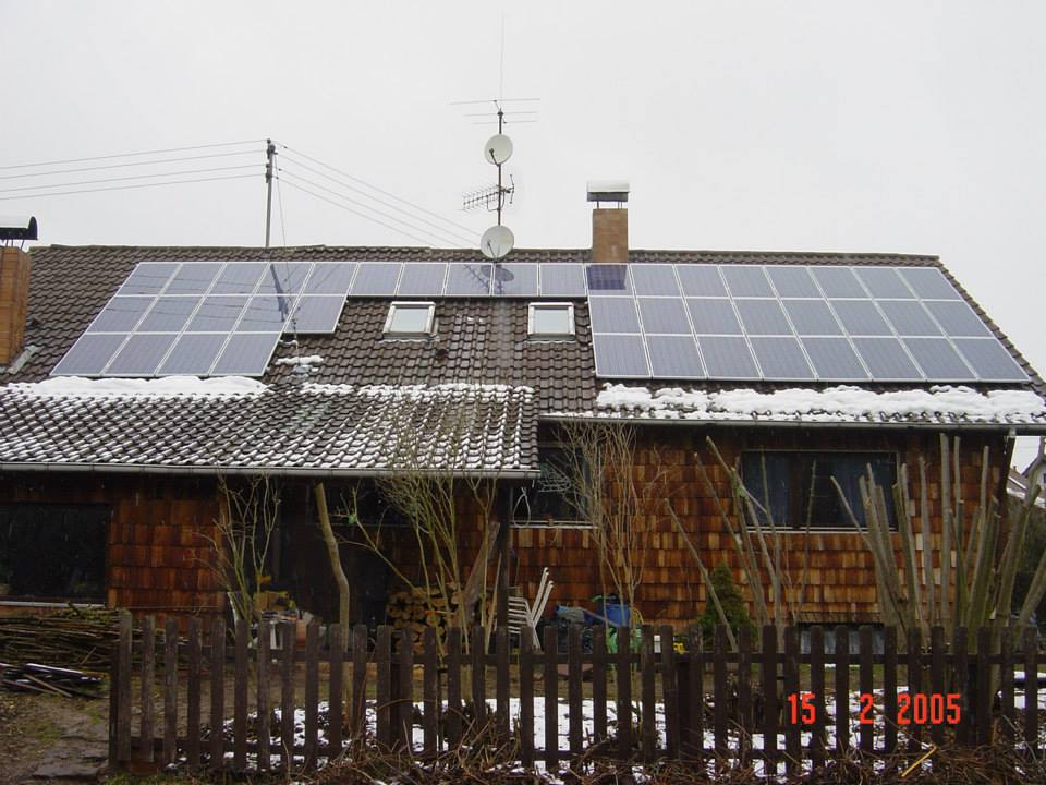 Lobach, PV-Anlage (6,88 kWp)