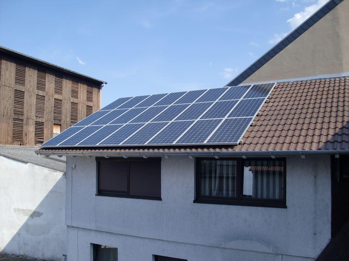 Hockenheim, PV - Anlage (3,6 kWp)