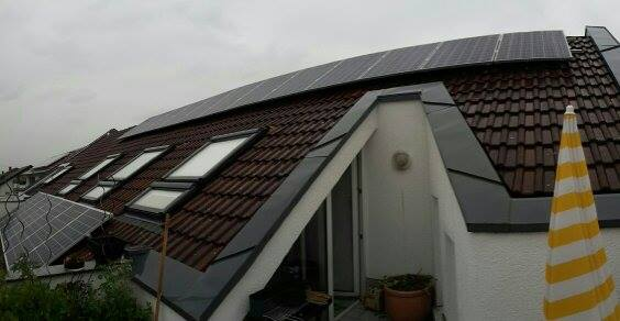 Sandhausen, PV - Anlage (9,88 kWp)
