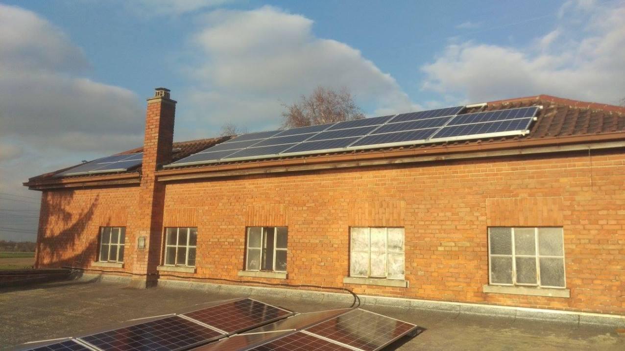 Mannheim, PV - Anlage (9,88 kWp)