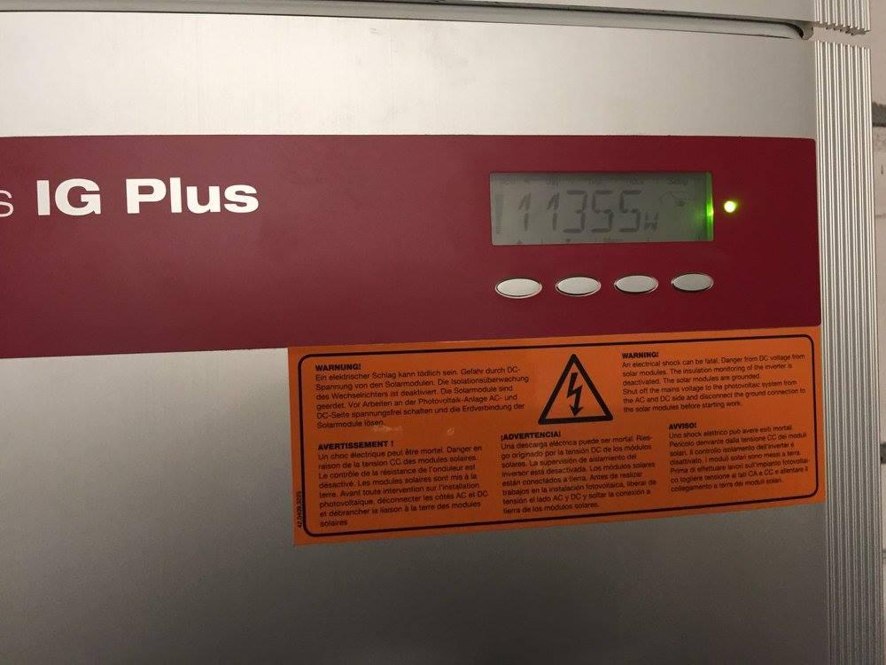 Biblis, PV - Anlage (56,6 kWp)