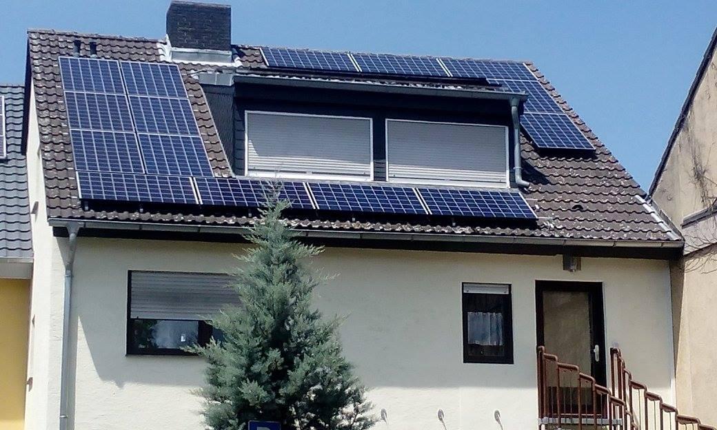 Mannheim, PV - Anlage (6,095 kWp)