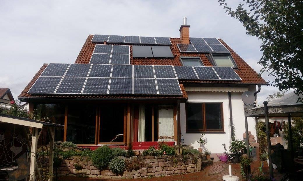 Heuchelheim, PV - Anlage (7,25 kWp)