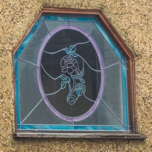 Ornate Glass Window