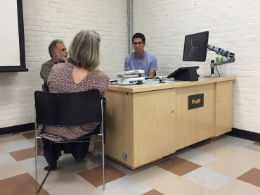 individual portfolio review with George and Vanessa