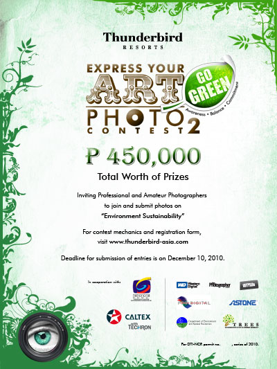 Go Green Express >> Thunderbird Resorts Express Your Art Photo Contest Ii Go
