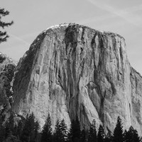 Black and White - Yosemite