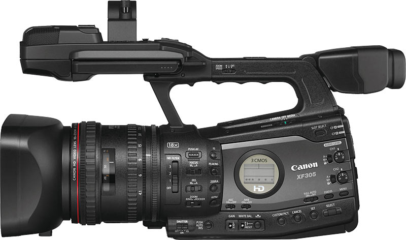 Canon Professional Camcorders Now With 3d Hd Video Capture